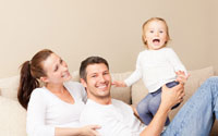 Familie mit Kind - Wohlfühlklima