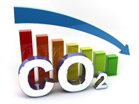 Verbrauch von CO2  senken