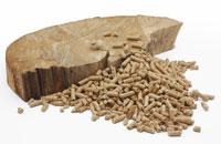 Pellets aus Holz